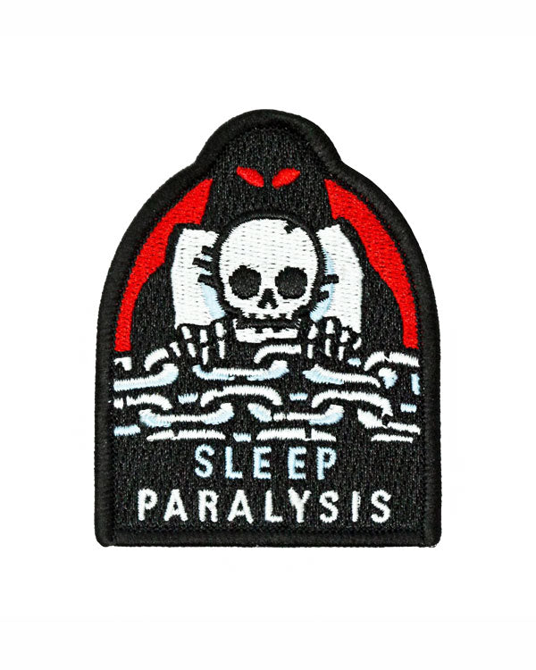 Sleep Paralysis Patch-Mean Folk-Strange Ways