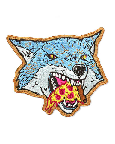 Pizza Wolf Patch