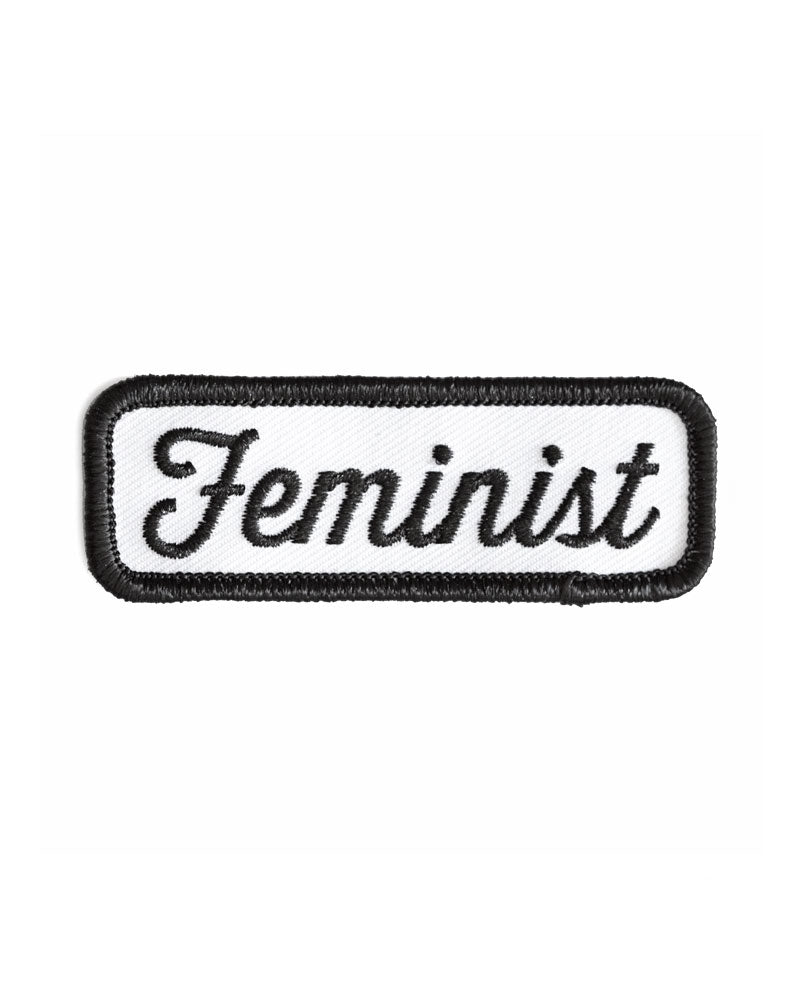 Feminist Patch - Black-These Are Things-Strange Ways