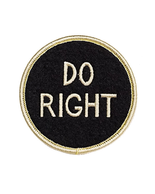 Do Right Patch-Oxford Pennant-Strange Ways