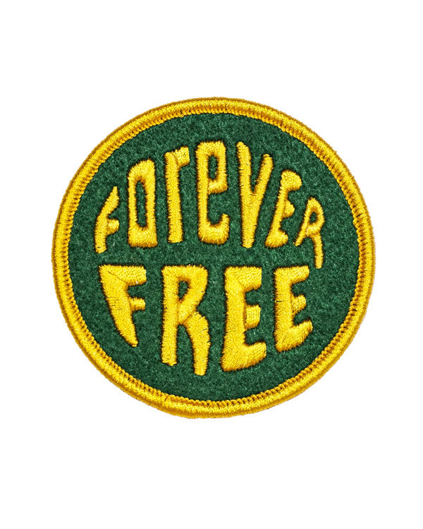 Forever Free Patch-Oxford Pennant-Strange Ways