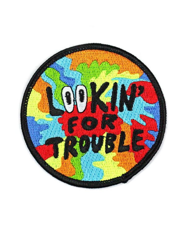 Lookin' For Trouble Patch-Quiet Tide Goods-Strange Ways