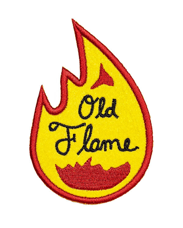Old Flame Patch-Oxford Pennant-Strange Ways
