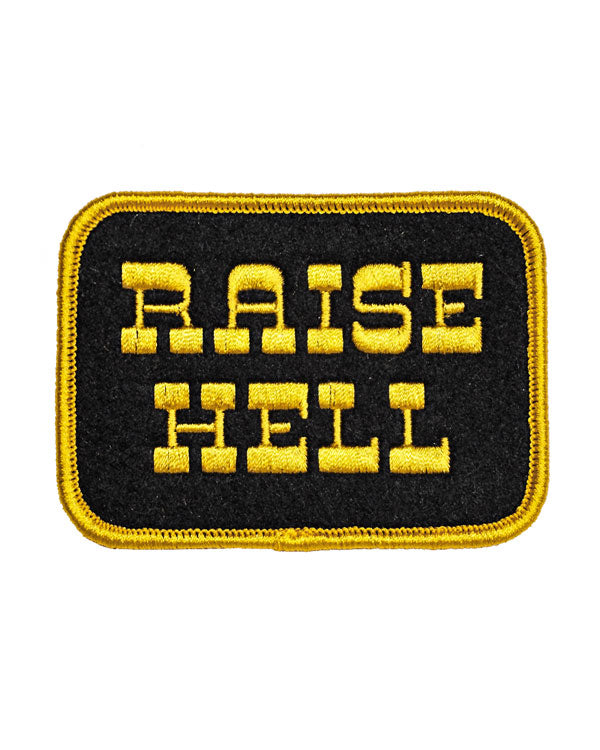 Raise Hell Patch-Oxford Pennant-Strange Ways
