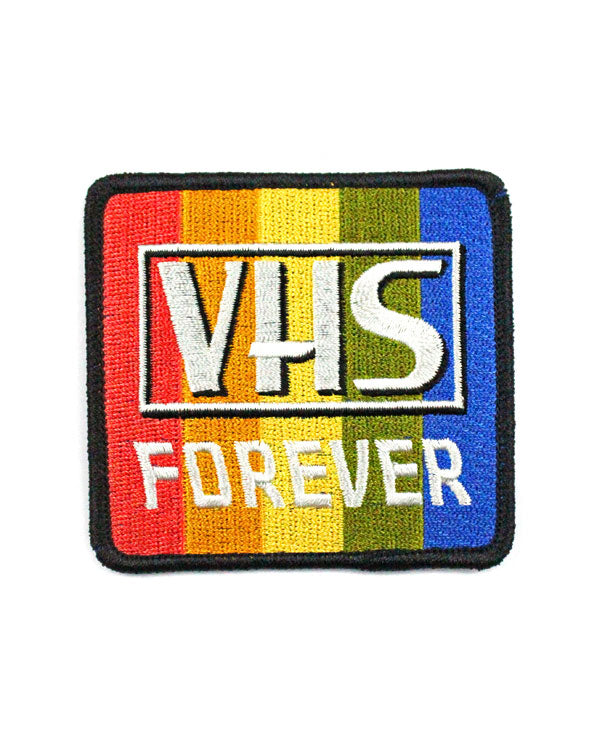 VHS Forever Patch-Quiet Tide Goods-Strange Ways
