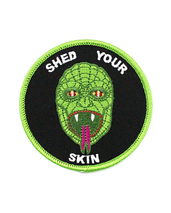 Shed Your Skin Reptilian Patch-Quiet Tide Goods-Strange Ways
