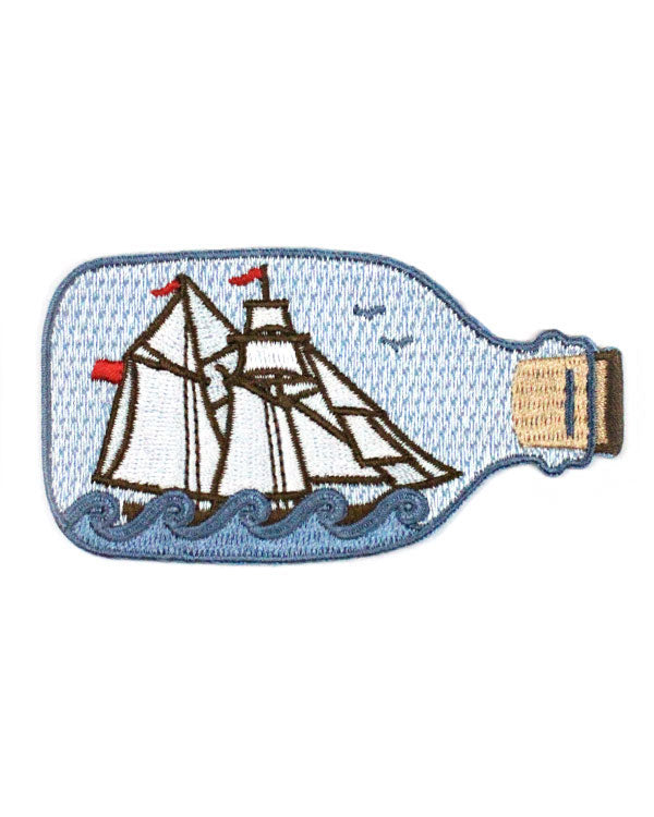 Ship In A Bottle Patch-Quiet Tide Goods-Strange Ways