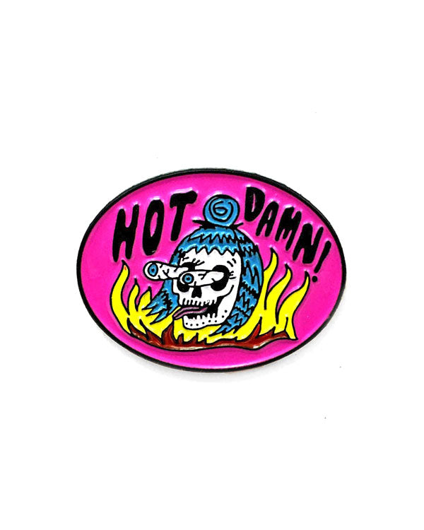 Hot Damn Pin-Bananna Bones-Strange Ways