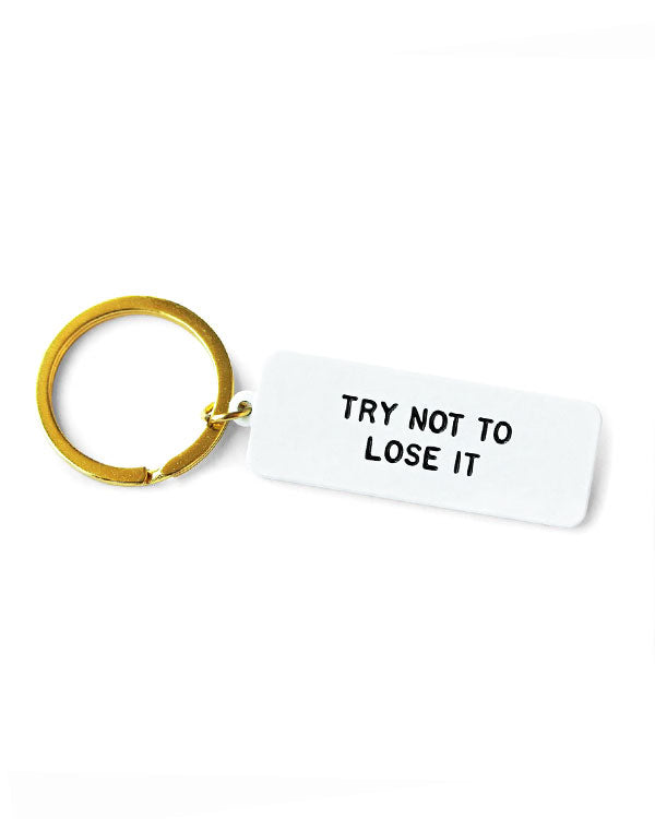 Lose It Keychain-Adam J. Kurtz-Strange Ways