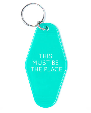 This Must Be The Place Keychain - Green
