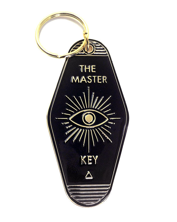 The Master Key Keychain-Badaboöm Studio-Strange Ways