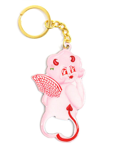 Lolly Dolly Butt Buddy Bottle Opener Keychain