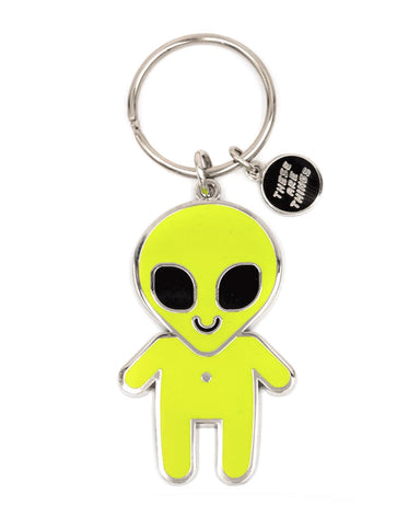 Alien Baby Keychain (Glow-in-the-Dark)