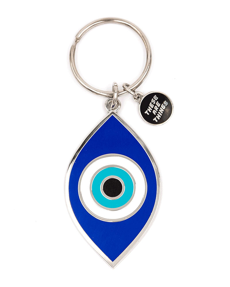 Evil Eye Keychain-These Are Things-Strange Ways