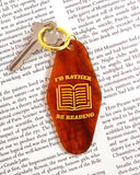 I'd Rather Be Reading Keychain-Valley Cruise Press-Strange Ways