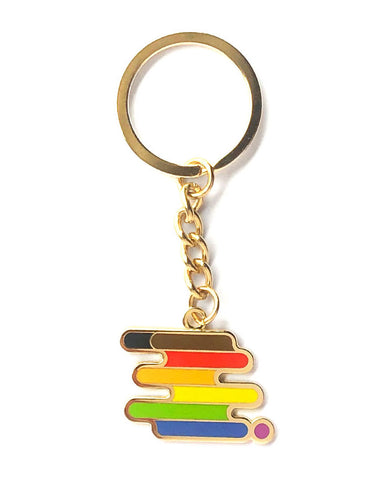 Queer POC Pride Keychain