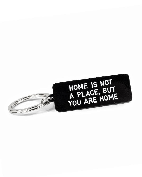Home Is Not A Place Keychain-Adam J. Kurtz-Strange Ways