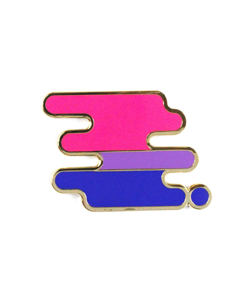 Bisexual Pride Pin-Bianca Designs-Strange Ways