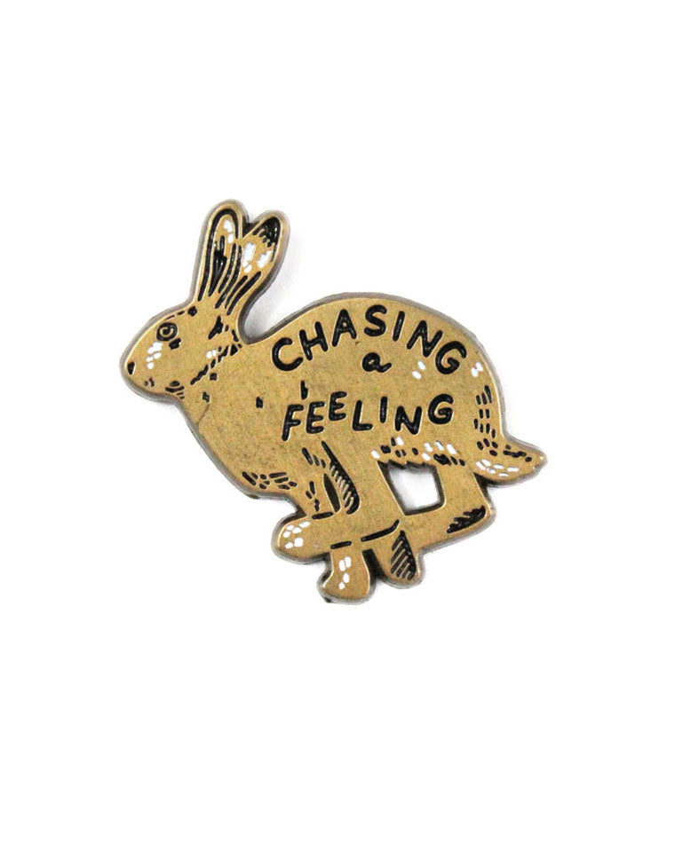 Chasing A Feeling Pin-Stay Home Club-Strange Ways