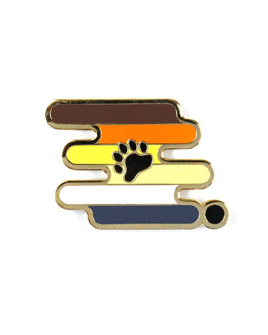 Bear Pride Pin