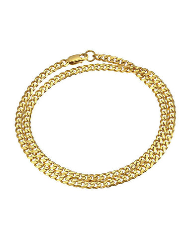 Esquire Double Wrap Bracelet - Gold