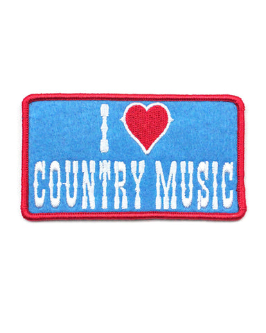 I Love Country Music Patch