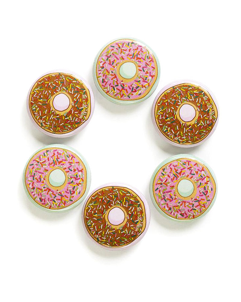 Box Of Donuts Magnets (Set of 6)-Smarty Pants Paper Co.-Strange Ways
