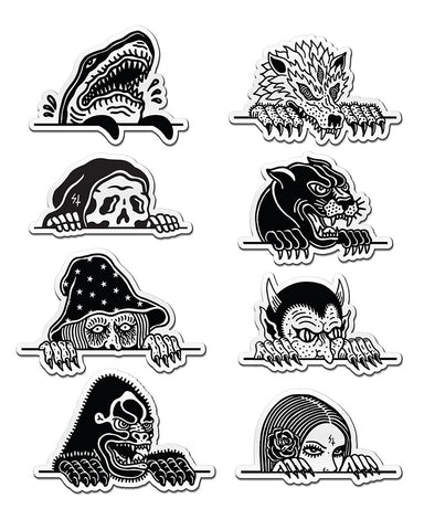 Lurkers Magnet Set (8 Pack)