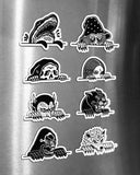 Lurkers Magnet Set (8 Pack)-Lurking Class by Sketchy Tank-Strange Ways