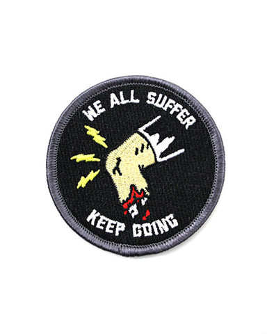 Keep Going Running Patch