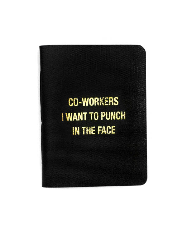 Co-Workers I Want To Punch In The Face Memo Book-27th Street Press-Strange Ways