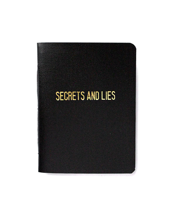 Secrets And Lies Memo Book-27th Street Press-Strange Ways