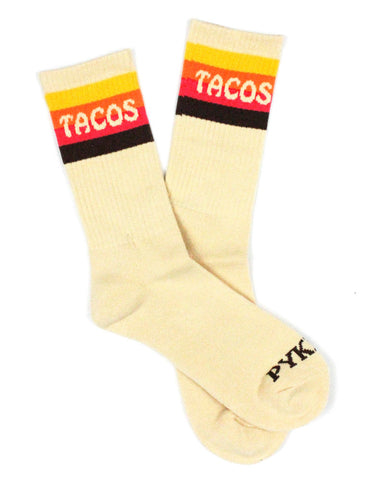 Tacos Striped Socks