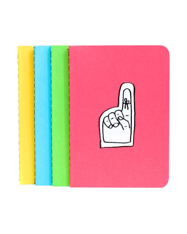 Adam J. Kurtz Mini Notebooks (Set of 4)