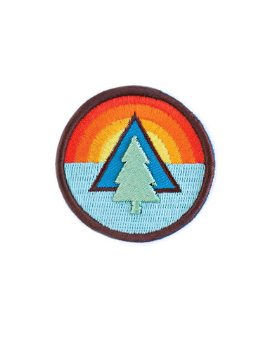 Tree Sunrise Mini Patch