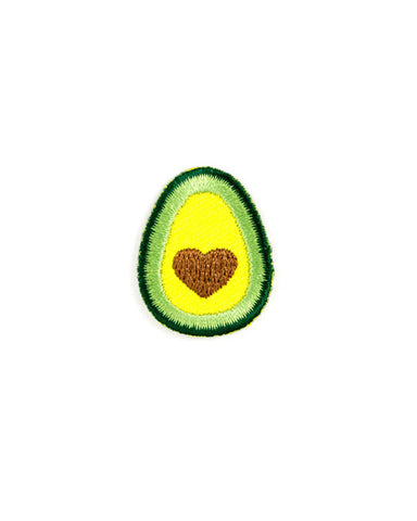 Avocado Heart Mini Sticker Patch