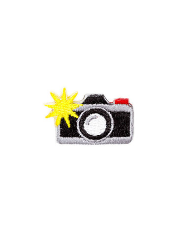 Camera Mini Sticker Patch