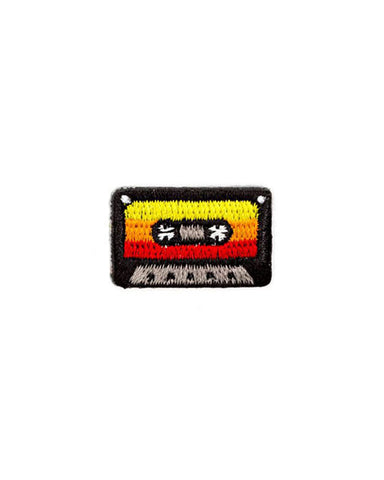 Music Mixtape Mini Sticker Patch