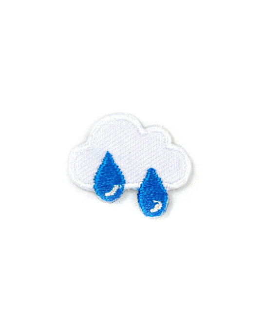 Rain Cloud Mini Sticker Patch-These Are Things-Strange Ways