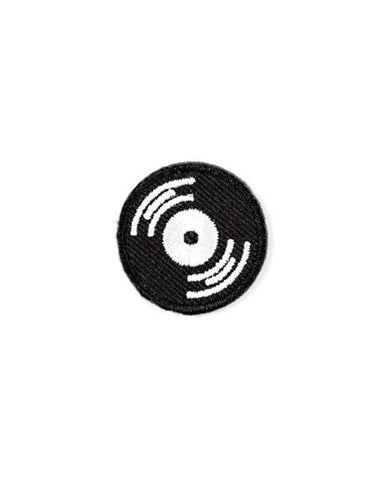 Music Record Mini Sticker Patch
