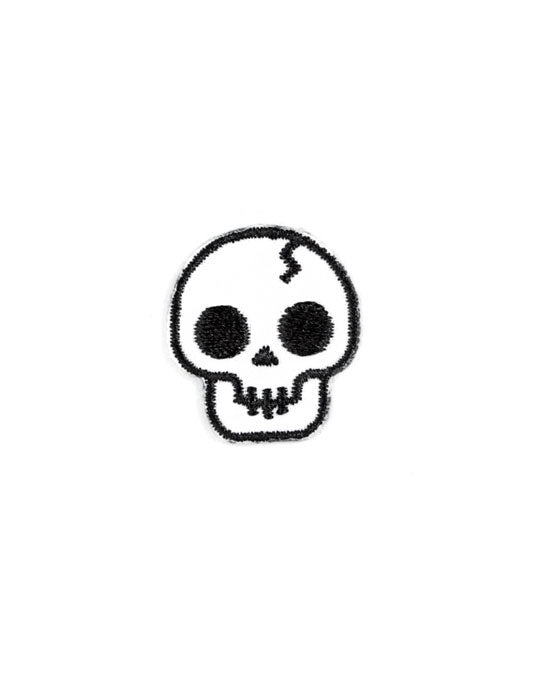 Skull Mini Sticker Patch-These Are Things-Strange Ways