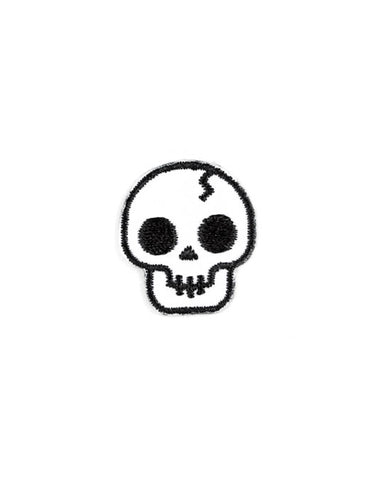 Skull Mini Sticker Patch