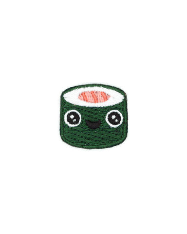 Sushi Roll Face Mini Sticker Patch