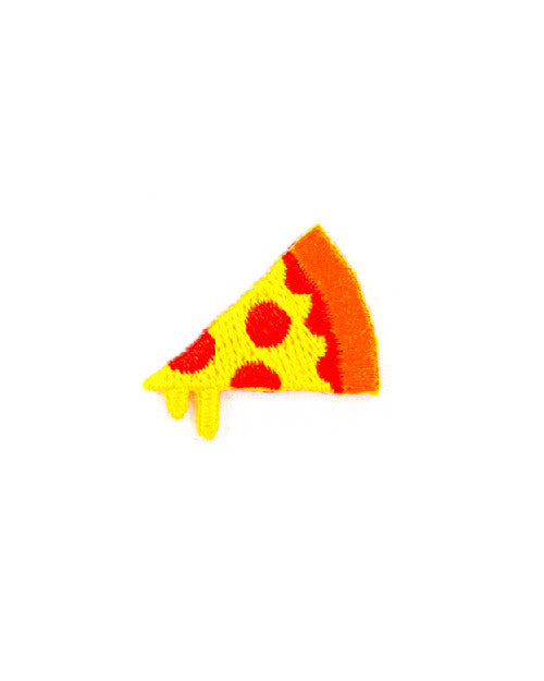 Pizza Mini Sticker Patch-These Are Things-Strange Ways