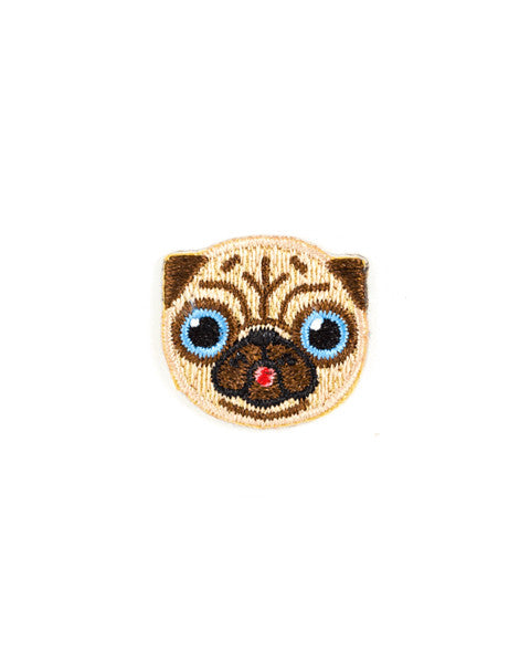 Pug Dog Mini Sticker Patch-These Are Things-Strange Ways