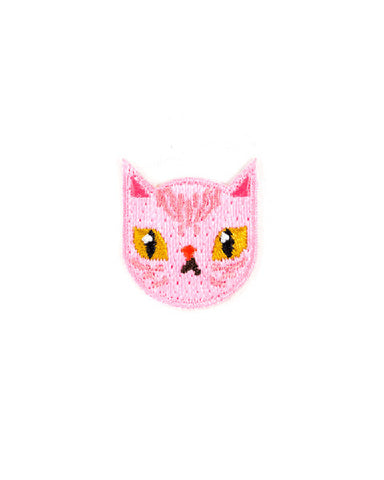 Pink Sphynx Cat Mini Sticker Patch