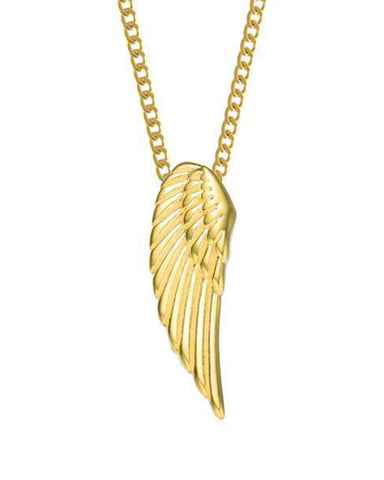 Archangel Wing Necklace - Gold