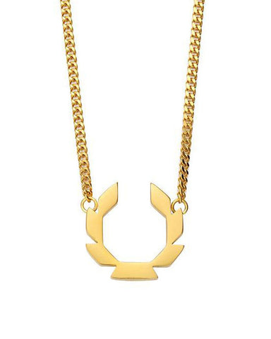 Laurels Necklace - Gold