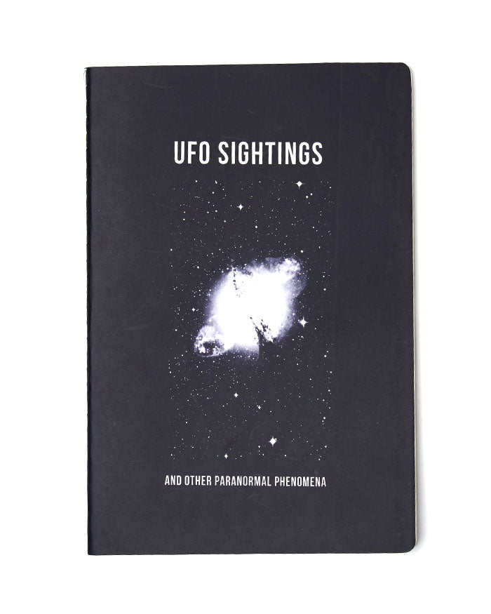 UFO Sightings Notebook-Hungry Ghost Press-Strange Ways