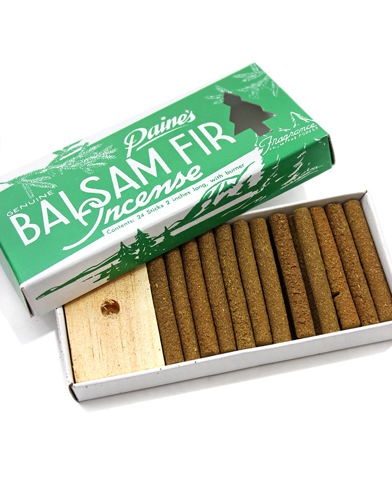 Paine's Balsam Fir Incense Sticks (24 ct)-Paine's Of Maine-Strange Ways